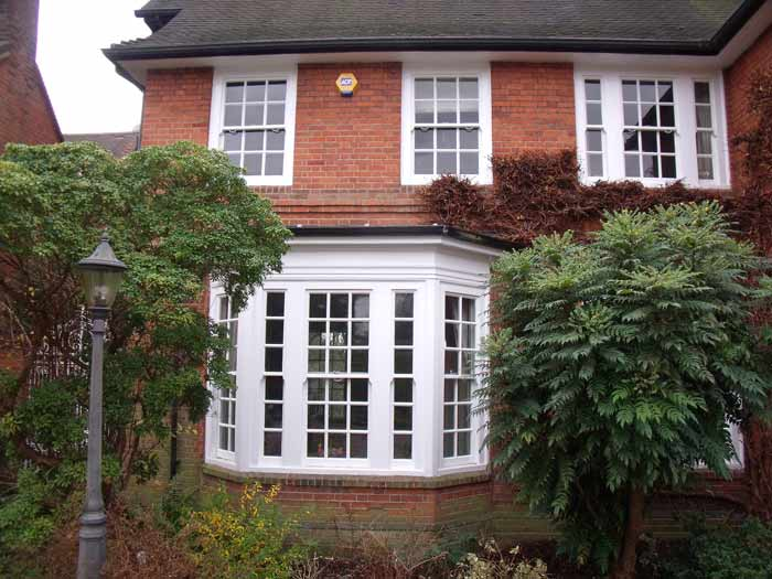 Sash Windows in a traditional house